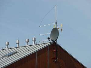 ochrona izolowana masztu antenowego